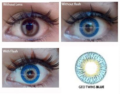 geo twins contact lens